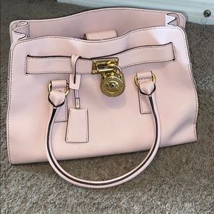 Michael kors light pink purse (Hamilton purse )